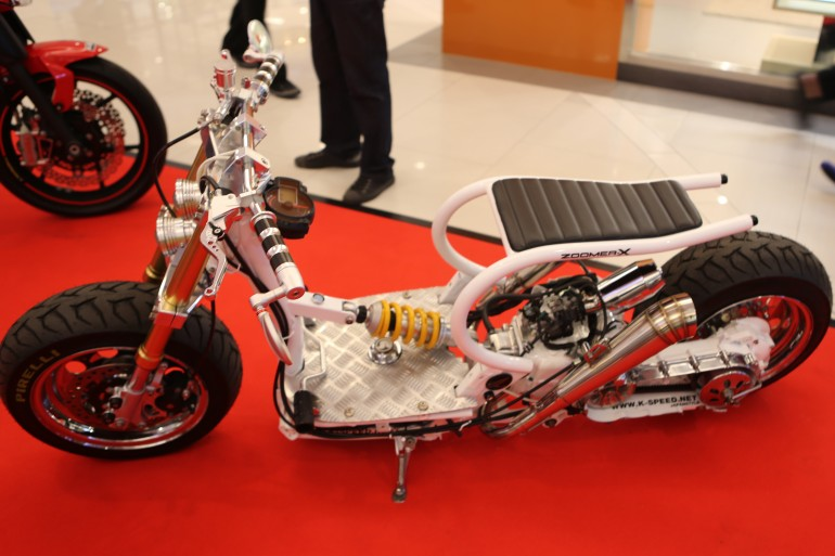 Honda's original Zoomer has been a long-time favorite of customizers in Thailand (Photo: H...