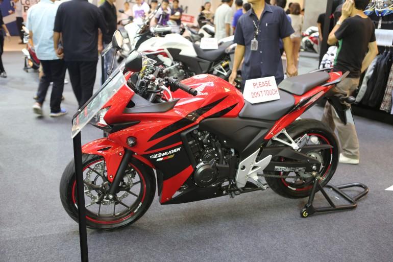 Mugen's interpretation of the Honda CB500R (Photo: Husna Namirembe/Gizmag)