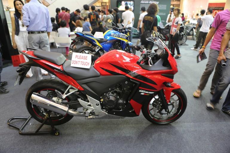 Mugen's interpretation of the Honda CBR250R (Photo: Husna Namirembe/Gizmag)