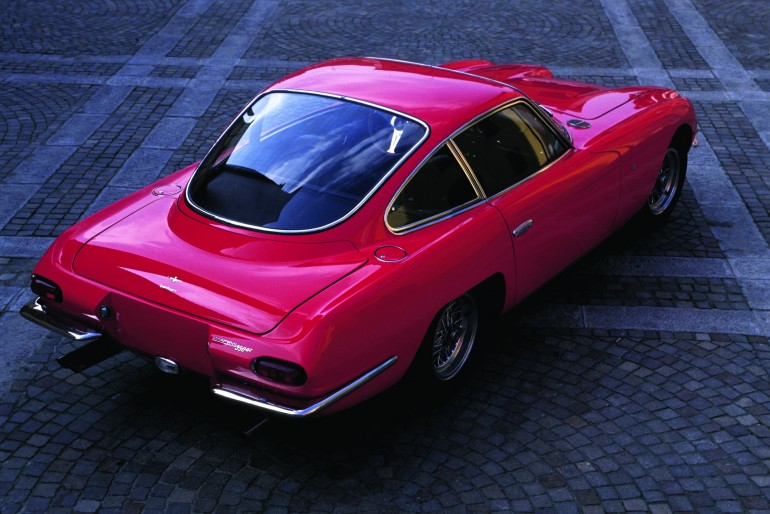 The 350 GT coupe saw only 120 models made by Carrozzeria Touring before production ceased ...