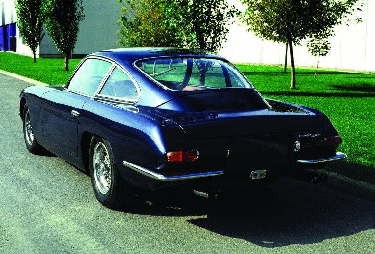 Only 250 examples of the 400 GT were created by Carrozzeria Touring, but with a restyled, ...