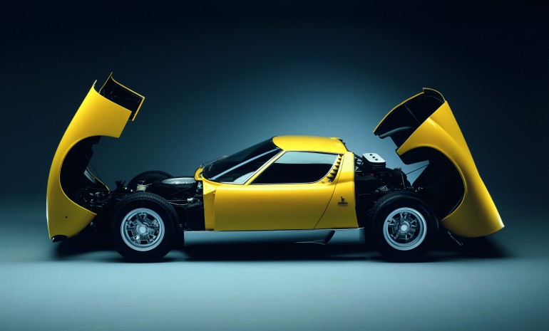 In 1966 Lamborghini stunned the world with the first supercar, the Miura; a ground-breakin...