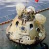 Apollo 8 on USS Yorktown (Image: NASA)