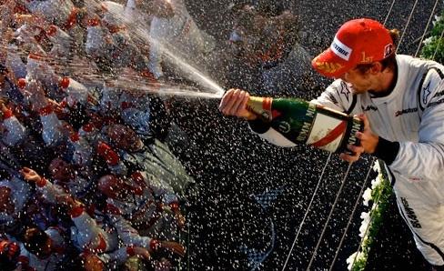 The Virgin Brawn GP team's spectacular first up effort