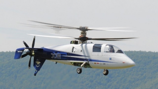 Sikorsky's X2 Demonstrator First Flight