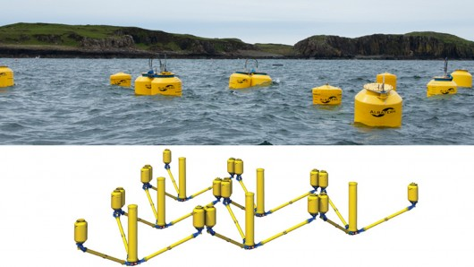 WaveNET - a floating, flexible, modular and massively scalable wave power generation idea ...