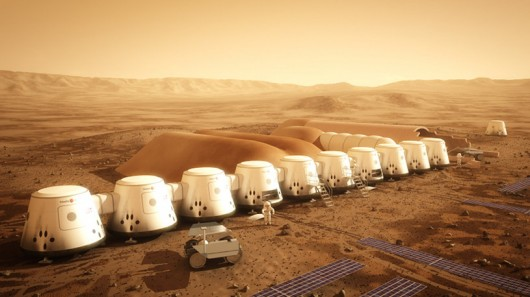 Dutch company Mars One is planning an extremely ambitious way to land mankind on Mars and ...