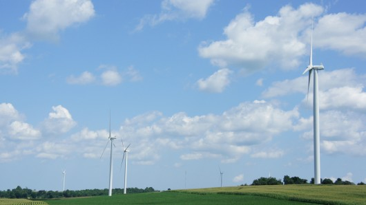 Wind farms can cause change in local temperatures (Photo: Gizmag)