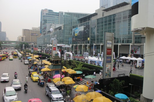 CentralWorld played host to the Festival