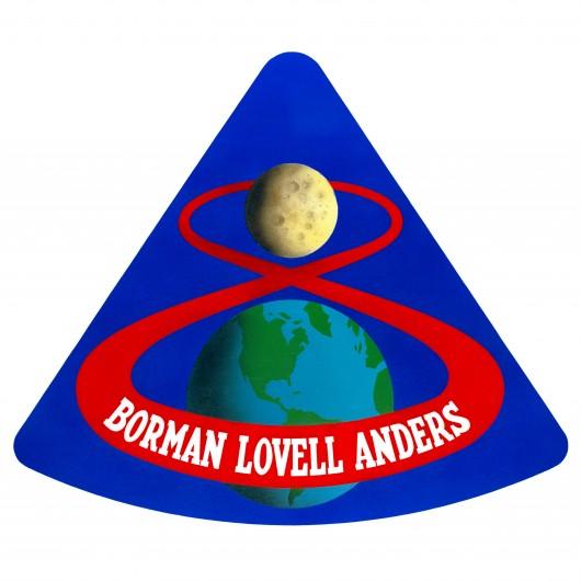 Apollo 8 mission patch (Image: NASA)