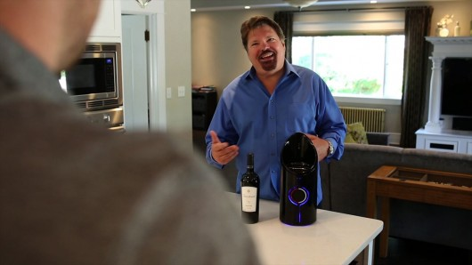 DTC CEO Mike Coyne explains the properties of the Sonic Decanter